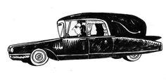 Carro Fúnebre/ Funeral car. Powerpaola #VirusTropicalFilm