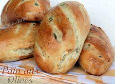pains aux olives, cuisine algerienne