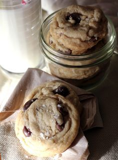 Game Changer: Brown Butter Chocolate Chip Cookies with Sea Salt - Baking the Goods