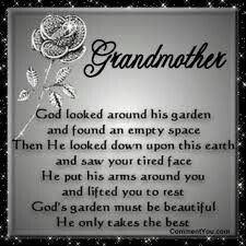 I engender the day you left us. Your soul was in heaven and watching over us.  I could feel your love still!  And I could see you with grandkids while he played his fiddle!