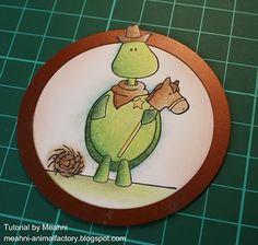 Image extending outside of the Nestie Yoshi, I Card, Turtle, Tutorials, Craft Ideas, Crafty, Explore, Tips, Animals