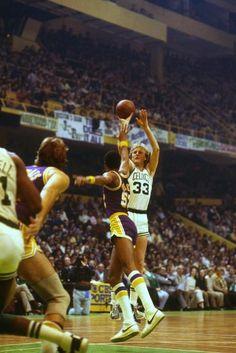 Larry Bird and Jamaal Wilkes - Los Angeles Lakers 436cf7db7