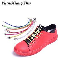 2PcsConvenient tieless lace no need tie flat shoelaces lazy shoe laces buckle JB