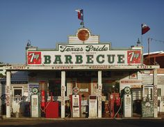 Texas Pride Barbecue, Adkins, TX by Pat Corrigan, via Flickr