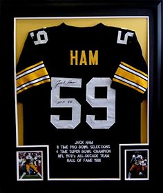 Jack Ham Framed Jersey Signed JSA COA Autographed Pittsburgh Steelers Mister Mancave http://www.amazon.com/dp/B00KWBXNV0/ref=cm_sw_r_pi_dp_FRKswb05B3F1A