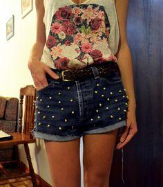 DIY Pearl Shorts