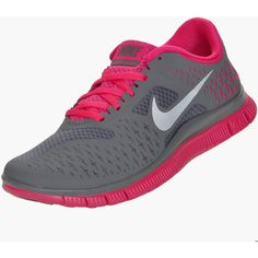 Nike Free Run 4.0+ V2 Women's Running Shoes ($90) ❤ liked on Polyvore