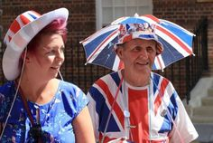Birth of #RoyalBaby should give #England tourism a bounce. Oh, and nice hat there, buddy.