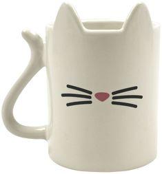Animal coffee mug - cat