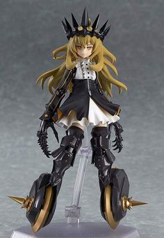 Chariot Figma Action Figure TV Animation ver. ~ TV ANIMATION BLACK ROCK SHOOTER $85.00 (This is a preorder item scheduled for release in November 2014) http://thingsfromjapan.net/chariot-figma-action-figure-tv-animation-ver-tv-animation-black-rock-shooter/ #chariot figure #figma action figure #black rock shooter #action figure