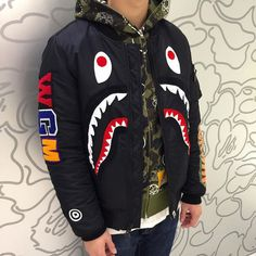 """b-a-p-e: """"Shop at RidleyStudios. Use the code SHIP for free postage. Bape Outfits, Outfits Hombre, Fashion Outfits, Dope Outfits For Guys, Cool Outfits, Winter Outfits, Trajes Kylie Jenner, Urban Fashion, Mens Fashion"""