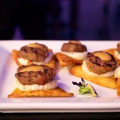 Lamb kefta | eggplant mousse | Harissa sauce [blog link in bio!] @officialneonmuseumlasvegas