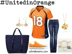 I am not a Bronco fan, but I am a Manning fan!  Woo Hoo!  And this is really cute!
