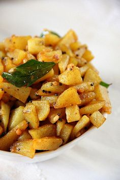 Spicy Potato roast  IMG_9999 by bharathyvasu, via Flickr