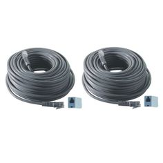 Revo R100rj12c-2 100-Feet Rj12 Cable (2-Pack), 2015 Amazon Top Rated Video Surveillance #Photography