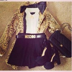 #Moschino Belt To Die For