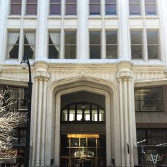 Healey entrance on Forsyth St. #atlanta #downtownatlanta #architecture