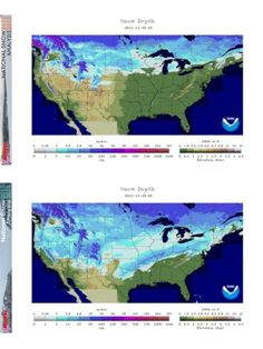 All North Atlantic And Eastern North Pacific Hurricanes At Least - Us snow coverage map
