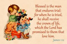 Crown of Life Free Christian Message Card copy