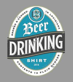 Drinking Shirt by Scott Greci