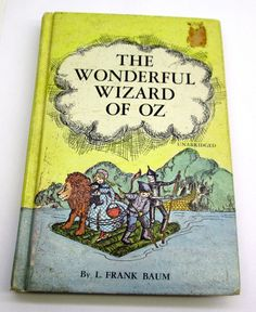 The Wonderful Wizard Of Oz Unabridged 1970 Book by L. Frank Baum 1970 Hardbound Whitman Children's Book by Collectingly on Etsy Folgers Coffee, Price Sticker, Wizard Of Oz, Childrens Books, How To Memorize Things, Thunder, Kittens, Fantasy, Etsy