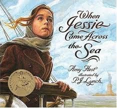 When Jessie Came Across the Sea: good go-along for learning with American Girl doll Rebecca. Eastern European immigration.