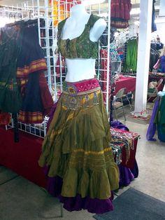 Gorgeous Aishwarya fully lined wrap skirt by MagicalFashions57, $49.00