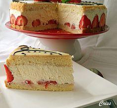 Arome si culori : Tort fraisier