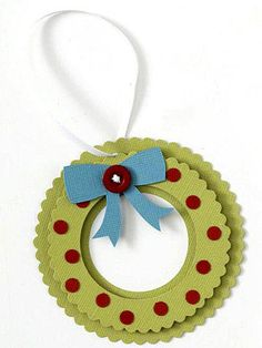Scalloped Wreath Paper-Piecing Pattern