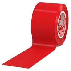 """RockTape 2"""" Single Rolls - Red"""