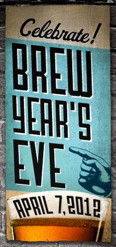 Happy Brew Year's Eve Folks