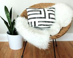 Your place to buy and sell all things handmade Nature Decor, Boho Decor, Neutral Pillows, Textiles, Sewing Pillows, Geometric Pillow, Bohemian Pillows, Charcoal Color, Diamond Pattern