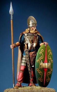 Guerriero celta, III-II secolo A.C.