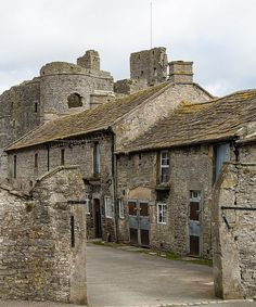 Stables, Middleham Castle, England