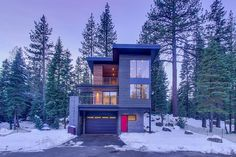 Custom new development project at Squaw Valley by Sage Modern