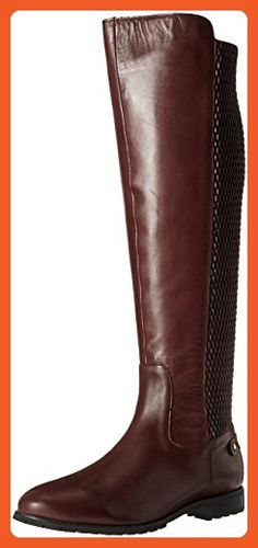 Sudini Women's Fabiana Riding Boot, Burgundy, 11 M US - Boots for women (*Amazon Partner-Link)