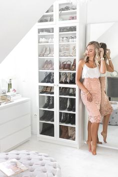 Closet Tour - How to build your own Walk in Closet Ankleidezimmer, Ikea Pax, Walk in Closet, Closet, Walk In Closet Ikea, Closet Walk-in, Ikea Pax Closet, Ikea Pax Wardrobe, Closet Hacks, Wardrobe Room, Walk In Closet Design, Closet Tour, Closet Designs