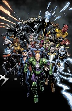 The first universe-wide event of The New 52 begins as FOREVER EVIL launches! The Justice League is DEAD! And the villains shall INHERIT the Earth! An epic tale of the world's greatest super-villains starts here!