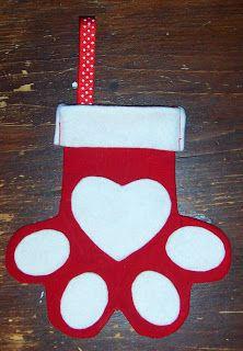 Christmas Tutorial Advent {Pet Christmas Stocking} - Handmade Cuddles