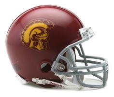 NCAA USC Trojans Replica Mini Football Helmet Riddell