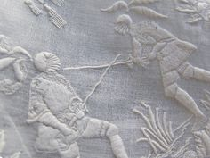 Handkerchief antique white work