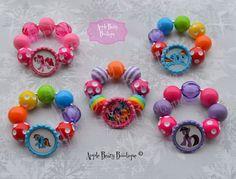 Birthday Party my little pony bracelet my little pony party favor rainbow dash…