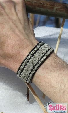 Scandi traditions as modern jewelry for both men and women   Sami Bracelet