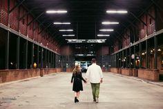 Night Time Engagement Photography | Charleston, South Carolina | HannahLane Photography
