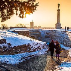 Stunning Instagram Pictures Of Belgrade I Took In The Last 3 Years   Bored Panda Winter is coming, eh?