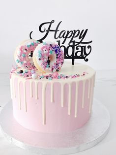 Beautiful Cakes Birthday Birthday Cake Toppers Make Beautiful Cakes Beautiful Cakes Birthday. Cake toppers are the way to go when it comes to cake decorations mainly because these toppers make the … Homemade Birthday Cakes, Happy Birthday Cakes, Birthday Cupcakes, Beautiful Birthday Cakes, Beautiful Cakes, Amazing Cakes, Donut Birthday Parties, Birthday Week, Birthday Kids