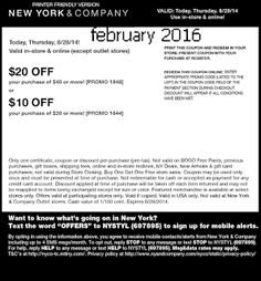 New York And Company Coupons Ends of Coupon Promo Codes JUNE 2020 ! Of and Company, through stores outlet an american sold is the wome. Free Printable Coupons, Printable Cards, Free Printables, Grocery Coupons, Online Coupons, Love Coupons, Print Coupons, Coupons For Boyfriend, Extreme Couponing