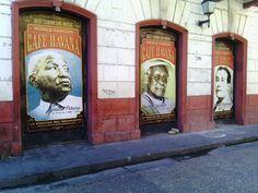 Havana Café - Calle del Guerrero. Cartagena Colombia. Getsemani Hood Project.