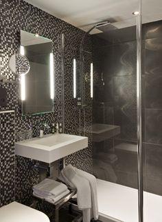 Проекты PORCELANOSA Grupo: отель Rohan в Страсбурге (Франция) #Porcelanosa @URBATEK ™  #Systempool #Noken #interiordesign #ceramictiles #projects #hotel #bathrooms #AnticColonial