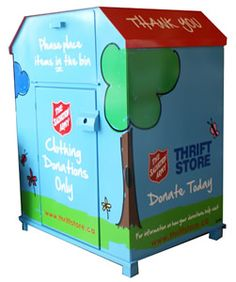 9 Best Clothing Donation Bins Images Locker Storage